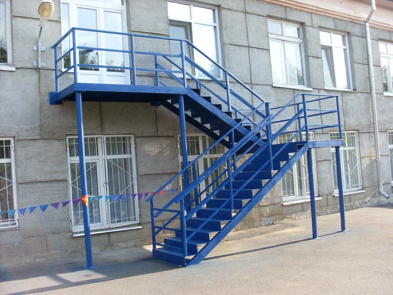Пожарные лестницы в Минске