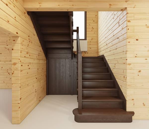 Лестницы на второй этаж г-образные своими руками