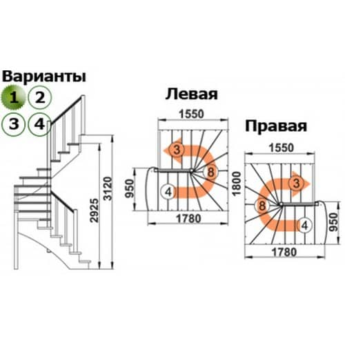 схема К-003М-4